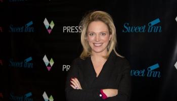La journaliste Vicky Bogaert