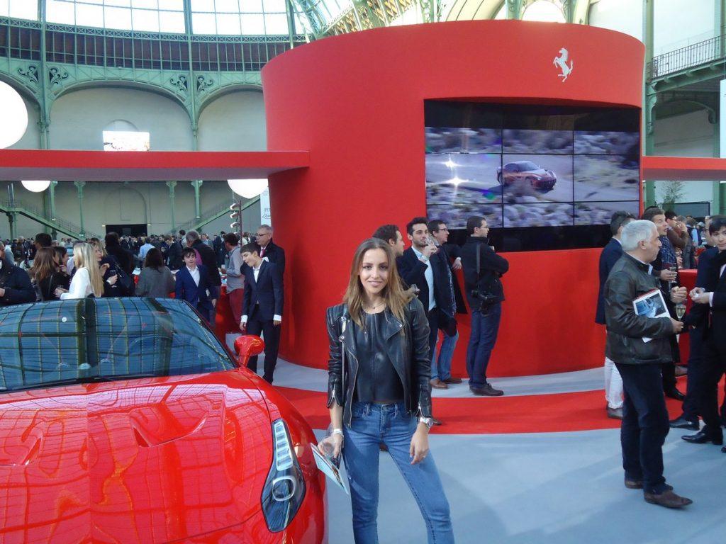 La sublime Carla Ginola chez Ferrari