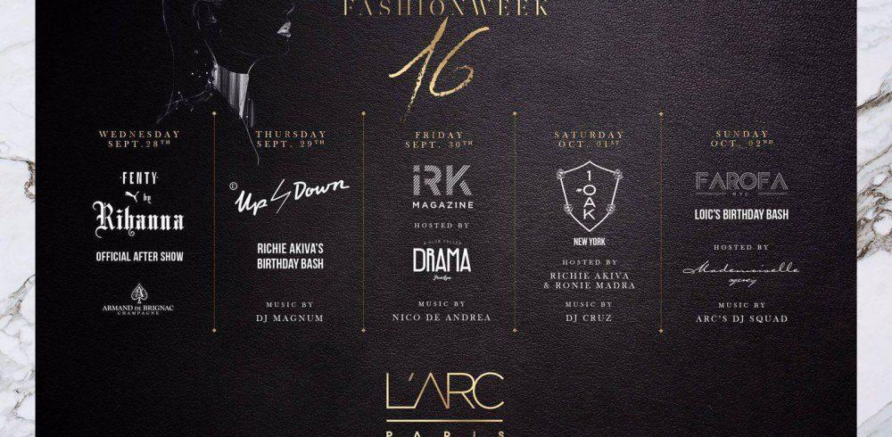 L'Arc Paris dévoile son programme pour la Fashion Week