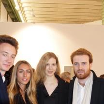 Frédéric Arnault, Fernanda Mottura, Melissa Mourer Ordener et Tancrède de Varine