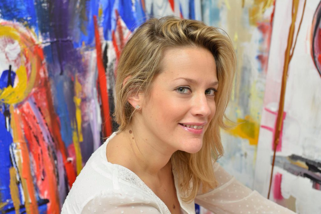 Caroline Faindt, talentueuse artiste parisienne