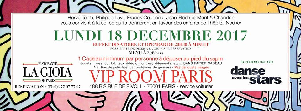 Christmas Party au VIP ROOM