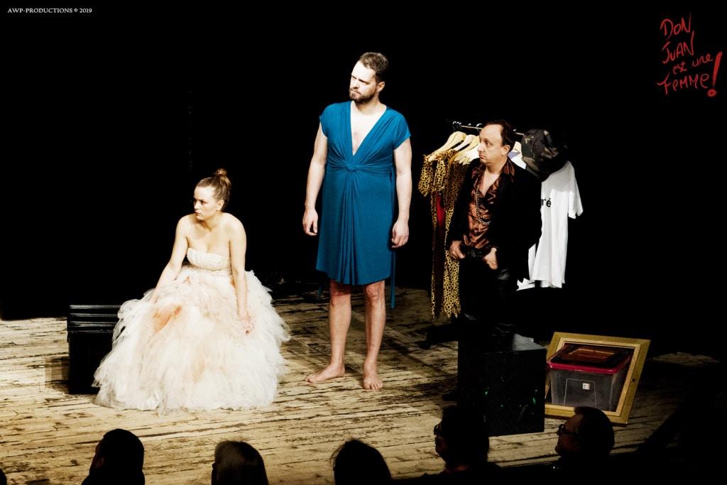 Au Café de la Gare, un drôle et convaincant Don Juan au féminin
