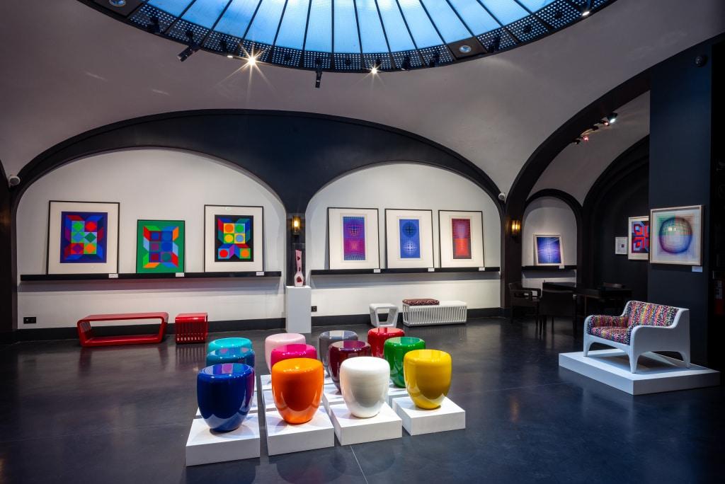 Une exposition dans un lieu atypique, la Secret Gallery à Paris